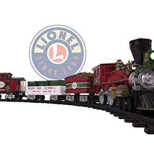 Lionel North Pole Central Battery-powered Model Train Set Ready to Play w/ Remote 41snt6FAAjL