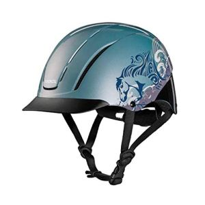 TROXEL Sky Dreamscape Spirit 2017 Design #1 Equestrian Riding Adjustable Helmet ASTM/SEI Certification