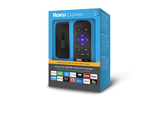 Roku Express | Easy High Definition (HD)Streaming Media Player