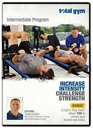 Total Gym Intermediate Workout DVD Increase Intensity Challenge Strength by Total Gym