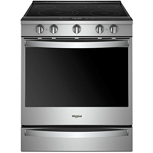 Whirlpool WEE750H0HZ 6.4 Cu. Ft. Stainless Electric Convection Range