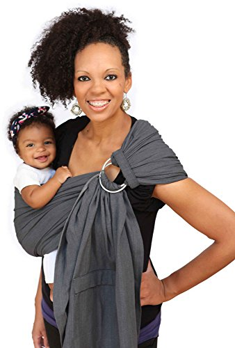 Maya Wrap ComfortFit Ring Sling - Graphite - Large