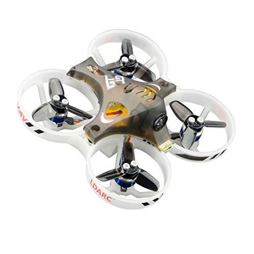 LDARC Tiny GT7 75mm Wheelbase 2S Indoor Brushless RC Racing Mini Drone Quadcopter Flip Over Crash (DSM/2 Receiver)