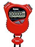 Oslo Robic Dual Stopwatch/Countdown Timer (Red)