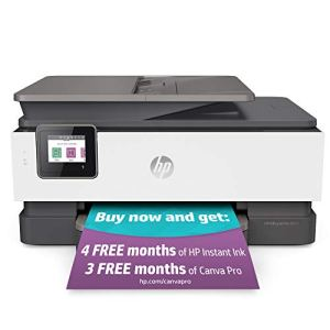 HP OfficeJet Pro 8025 All-in-One Wireless Printer, Smart Home Office Productivity, HP Instant Ink, Works with Alexa…