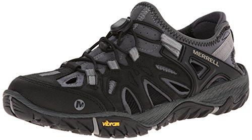 Merrell Men's All Out Blaze Sieve Water Shoe, Black/Wild Dove, 9 M US