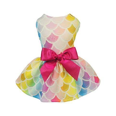 Fitwarm-Fairy-Mermaid-Pet-Clothes-Dog-Dresses-Sundress-Cat-Vest-Shirts