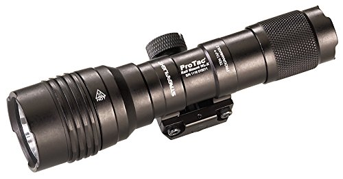 Streamlight 8866 Pro Tac Rail Mount HL-X, 1, Lumen Professional Tactical Flashlight with High/Low/Strobe Dual Fuel use 2X CR 123A or 1 x 1865 Batteries - 1 Lumens, Black