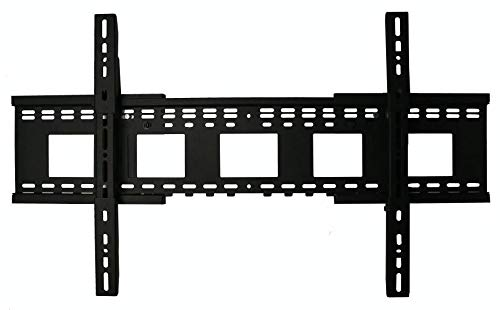 THE MOUNT STORE Expandable Fixed Position TV Wall Mount for Sharp 65' Class 4K HDR Smart TV LC-65P620U VESA 400x400mm