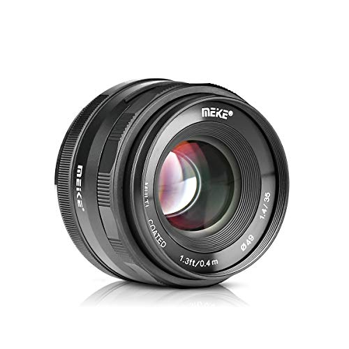Meike-MK-35mm-F14-APS-C-Large-Aperture-Manual-Focus-Lens-for-Sony-E-Mount-Mirrorless-Cameras-A7III-A9-NEX-3-NEX-3N-NEX-5-NEX-5T-NEX-5R-NEX-6-7-A5000-A5100-A6000-A6100-A6300-A6500