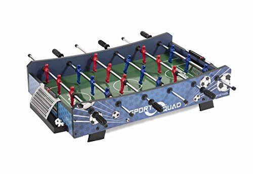 Sport Squad FX40 40 inch Table Top Foosball Table for Adults and Kids - Compact Mini Tabletop Soccer...