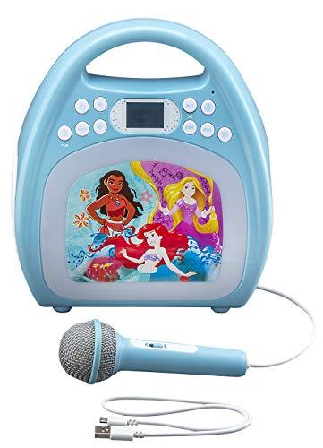 kiddesigns, inc. Disney Bluetooth MP3 Karaoke with Light Show - Disney Princesses