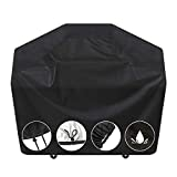 SARCCH Grill Cover,58- inches BBQ Special Grill Cover, Waterproof,UV and Fade Resistant, Durable and Convenient, Black?Fits Grills of Weber Char-Broil Nexgrill Brinkmann and More,