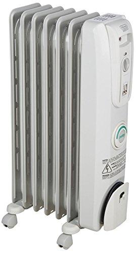DeLonghi EW7707CM Safe Heat 1500W ComforTemp Portable Oil-Filled Radiator