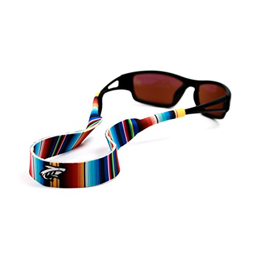 Pilotfish Sunglasses Strap - Floating Neoprene Eyewear Retainer - Sunglass Holder Strap - Custom Design (Serape)