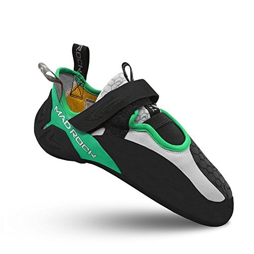 Mad Rock Drone Low Volume Climbing Shoe Green/Black, 8 D(M) US