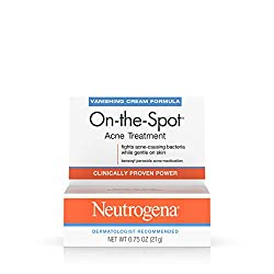 Neutrogena On-The-Spot Acne Spot Treatment with 2.5% Benzoyl Peroxide Acne Treatment Medicine to Treat Face Acne, Gentle Benzoyl Peroxide Pimple Gel for Acne Prone Skin, .75 oz Image ingrown hair