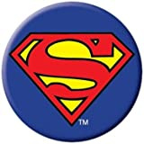 DC Comics Superman Logo Button 81071 by Ata-Boy