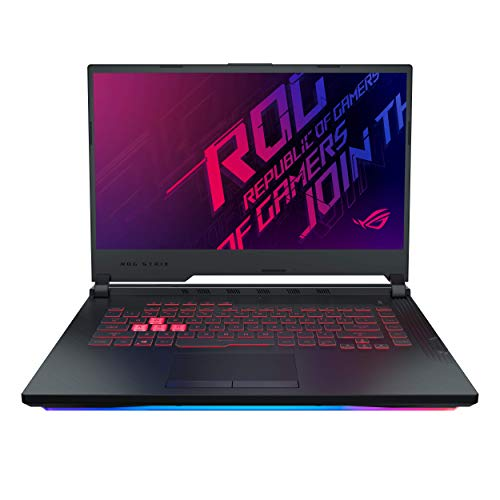 "ASUS ROG Strix G G531GT-BQ024T 15.6"" FHD Gaming Laptop GTX 1650 4GB Graphics (Core i5-9300H 9th Gen/8GB RAM/1TB SSHD + 256GB NVMe SSD/Windows 10/One-Zone RGB KB/2.40 Kg), Black 27"