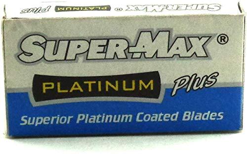 Supermax 100 Platanium Double Edge Shaving Razor Blade - (20Pkt*5Blades) 18
