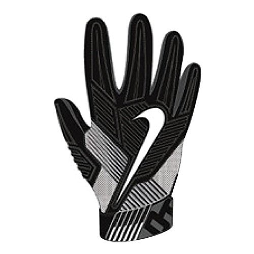 Nike Mens D-Tack 5 Padded Football Gloves Black/White GF0385 010 Size X-Large