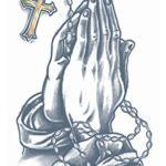 Tinsley-Transfers-Praying-Hands-Prison-Tattoo