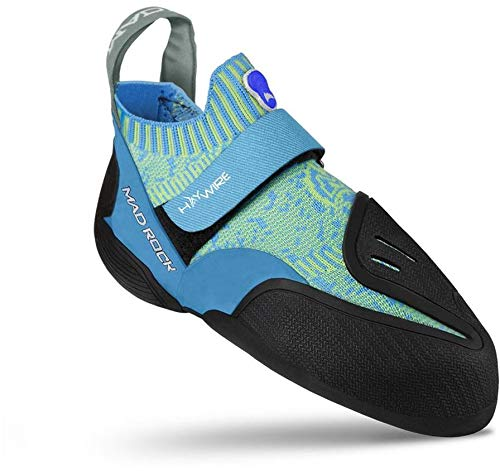 Mad Rock Haywire Climbing Shoe, Blue, 8 D(M) US