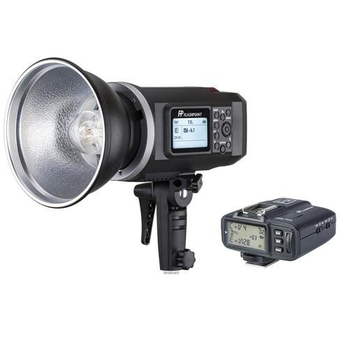 Flashpoint XPLOR 600 HSS TTL Battery-Powered Monolight with Built-in R2 2.4GHz Radio Remote System and R2 Transmitter for Sony (Bowens Mount) (AD600)