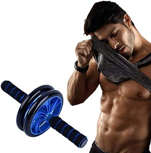 EPROSMIN Ab Wheel Workout Gear Ab Roller - 3 in 1 Fitness Equipment Set Ab Roller Resistance Bands Jump Rope Pull Rope - Ab Exercise Equipment Used as at Home Workout Equipment for Both Men & Women 4