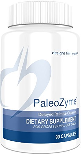 Designs for Health - PaleoZyme - Pancreatic Digestive Enzymes + Ox Bile, 90 Capsules