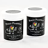 Polly Plastics Silicone Molding Putty - 1/2 Lb - for Moldable Plastic | Wax | Clay | Urethane and Epoxy Resins | Plaster