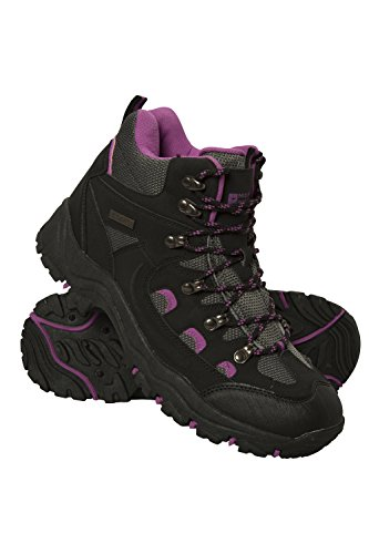 Mountain Warehouse Adventurer Womens Waterproof Boots - for Hiking Black 9 M US Women