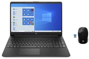 HP 15 10th Gen Intel Core i3 15.6-inch FHD Alexa Built-in Laptop (i3-10110U/4GB/1TB HDD/Win 10/MX130 2GB Graphics/ MS Office/Jet Black/1.74kg), 15s-du2060TX and Wireless Mice Combo