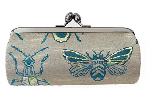 Insect A Pattern-A small clutch GAMAGUCHI, Nishijin KINRAN
