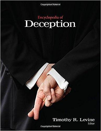Encyclopedia of Deception
