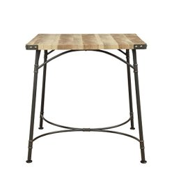 ACME Furniture 72085 Itzel Sandy Gray and Antique Oak Counter Height Table