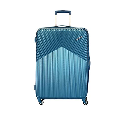 American Tourister Georgia Polycarbonate 55 cms Moonlight Blue Hardsided Cabin Luggage (FS3 (0) 21 001)