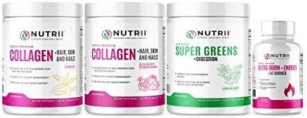 Nutrii Thermogenic Fat Burner and Weight Loss Supplement, Keto Friendly CLA and Garcinia Fortified Appetite Suppressant and Energy Booster with Green Tea and Raspberry Ketones (30 Servings-2 Pack) 8