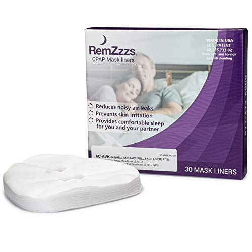 RemZzzs Minimal Contact Cpap Mask Liners (6C-AVK) - Reduce Noisy Air Leaks and Painful Blisters - Cpap Supplies and Accessories - Compatible with Fisher Paykel and Hans Rudolph