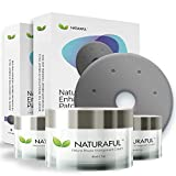 NATURAFUL - Enhancement & Enlargement Starter Kit | TOP RATED Breast Enhancement Creams - Natural Breast Enlargement, Firming and Lifting Patch | Trusted by Over 100,000 Users & Includes Handbook