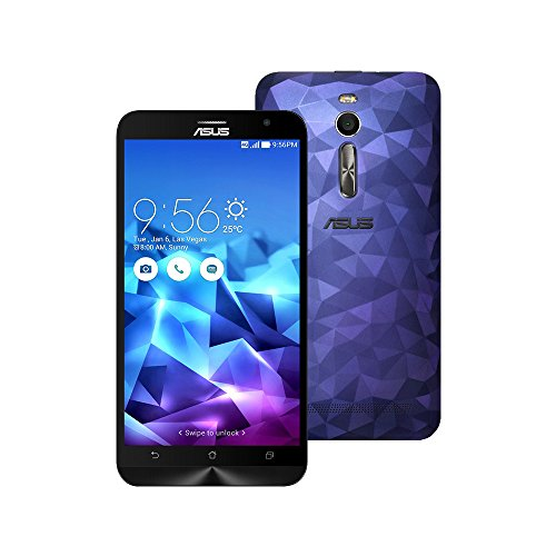 ASUS ZenFone 2 Deluxe ZE551ML 64GB 5.5-inch Dual-SIM 4G LTE FACTORY UNLOCKED International Stock No Warranty (ILLUSION BLUE)