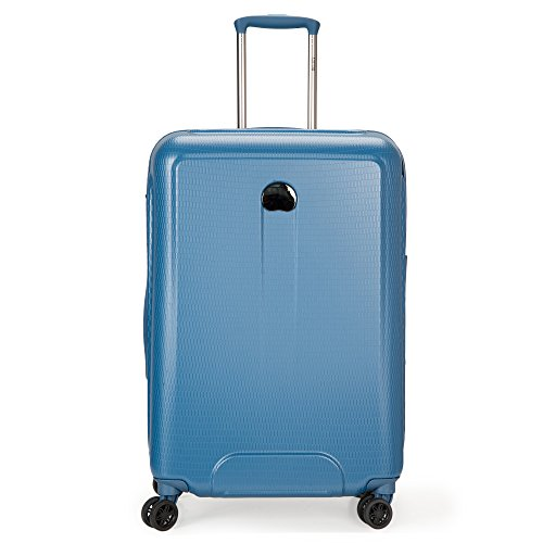 DELSEY Paris Delsey Luggage Embleme 25 Inch Trolley  Blue
