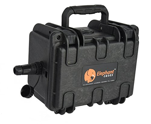 Elephant K100 Custom Made Kayak Battery Box Waterproof Floating Battery Case for Powering GPS Fish Finders Led Lights and Much More