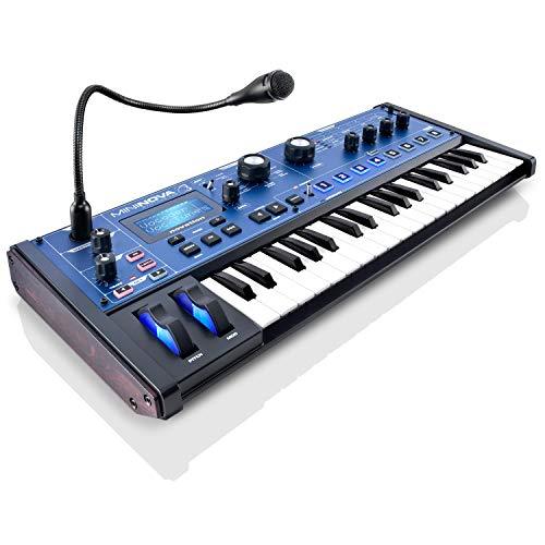 Novation MiniNova 37-mini-key Synthesizer/Vocoder with 1 Year Free Extended Warranty