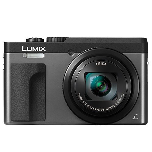 PANASONIC LUMIX DC-ZS70S, 20.3 Megapixel, 4K Digital Camera, Touch Enabled 3-inch 180 Degree Flip-front Display, 30X LEICA DC VARIO-ELMAR Lens, WiFi (Silver)
