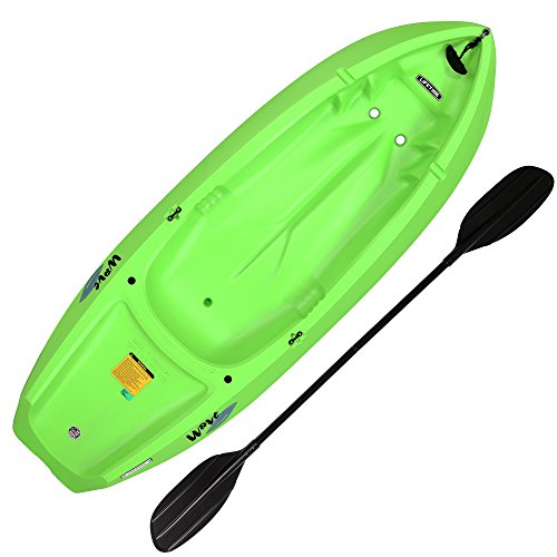 Lifetime Youth Wave Kayak with Paddle, 6 Feet, Green