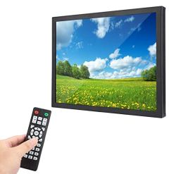 41v1KwIr07L - 15 inch TFT Multi-point Capacitive Touch Screen 1024x768 HD WLED Industrial metal shell Monitor with HDMI/VGA/AV/BNC/USB, Suitable for PC, TV, CCTV, Camera, Security, Computer, for Raspberry Pi(UK)