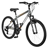 24 Roadmaster Granite Peak Boys Mountain Bike (24 Inches (Wheel Diameter), Black)
