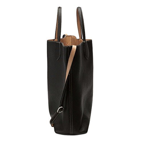 74cdbb316671 Gucci Ramble Reversible Leather Shopping Tote Bag with Shoulder ...