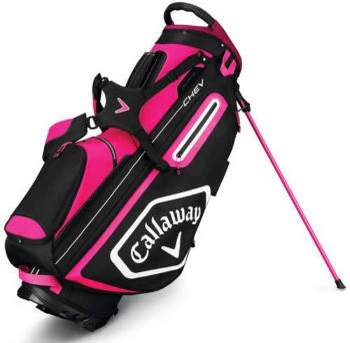 Callaway Golf 2019 Chev Stand Bag, Pink/White/Black